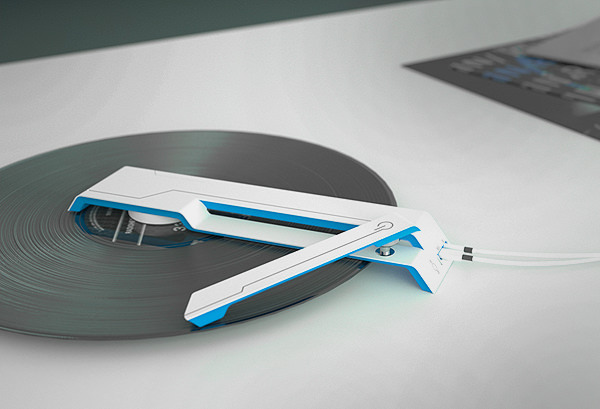 LP Player Concept by Charlie Pyott