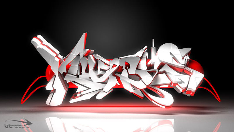 NEW URL: LLGD.netLooks like good 3D Graffiti by Brad Schwede